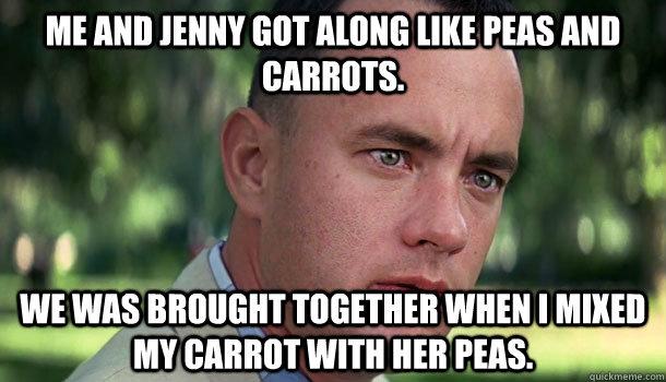 her peas