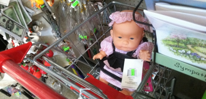 Creepy Amish Doll