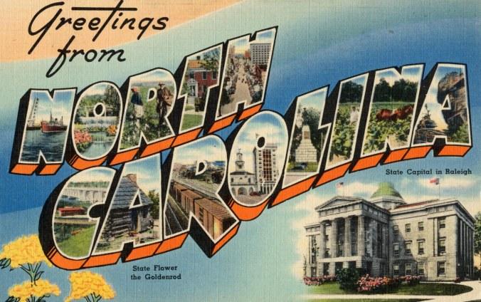 NC Postcard