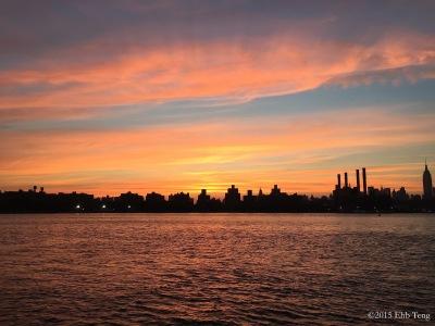 Sunset NY